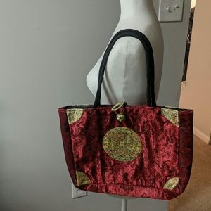 Chinese Silk Tote Purse